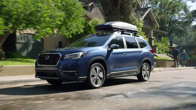 2021 Subaru Ascent Touring and Limited- Running Footage