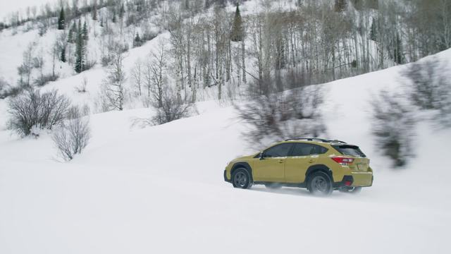 2021 Crosstrek Sport- snow driving footage.mp4