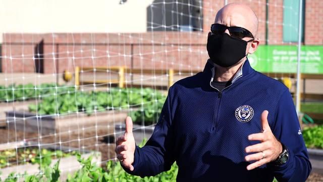 Subaru Loves the Earth Garden for Good Harvest, October 2020.
