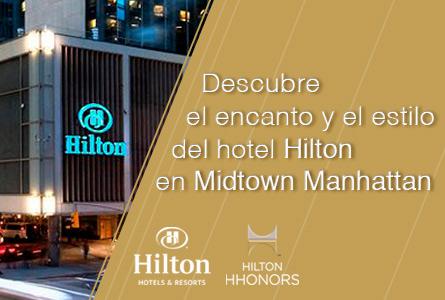Viaja a Nueva York y descubre el encanto de Hilton