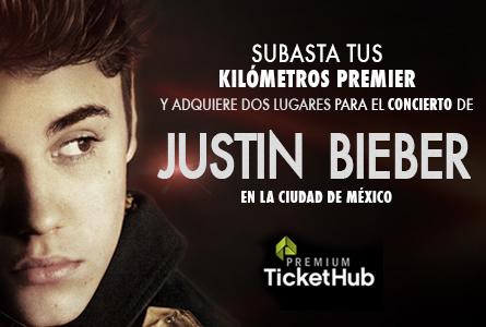 Justin Bieber en la Cd. de México
