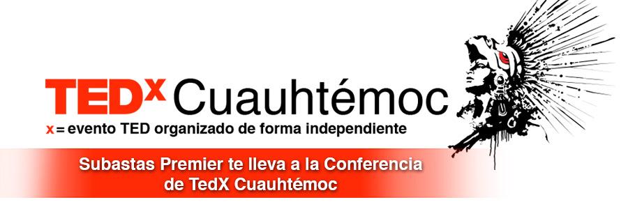 Inspírate con TEDx Cuauhtémoc y asiste al primer evento