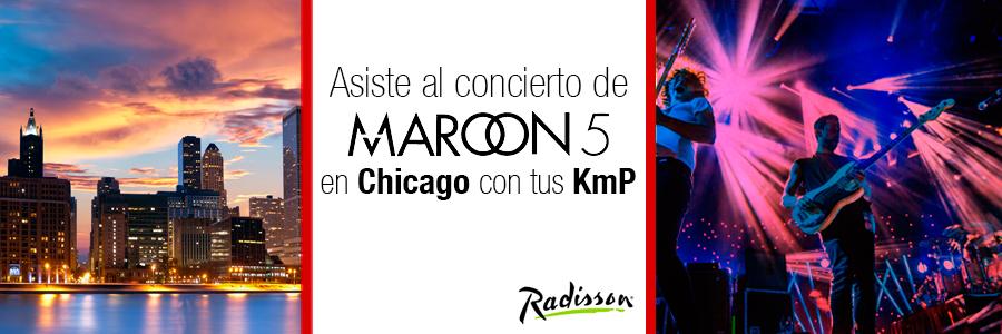 Maroon 5 en Chicago con Radisson