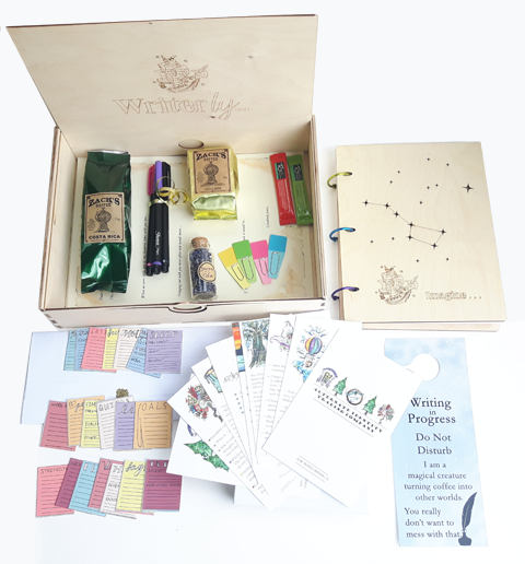 Writerly Kit - Six Month Prepay Option (delivered every other month)