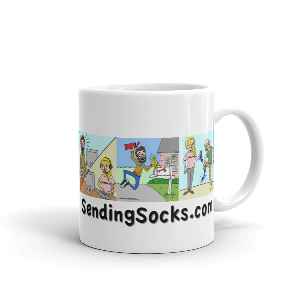Comic Strip Mug