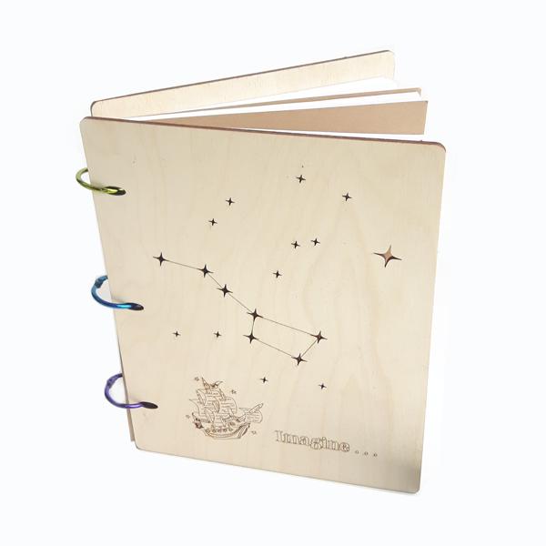 Writerly Birchwood Notebook