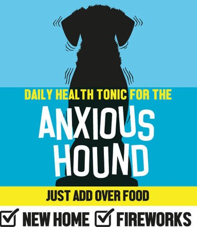 Anxious Hound Tonic for Dogs that weigh Between 8 and 12 Kilos