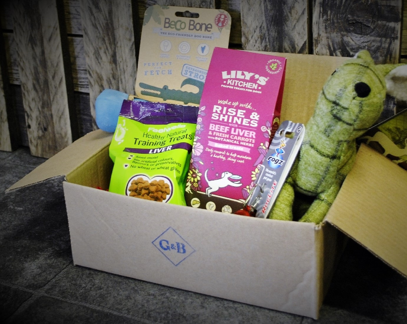 The Playful Pooch Box