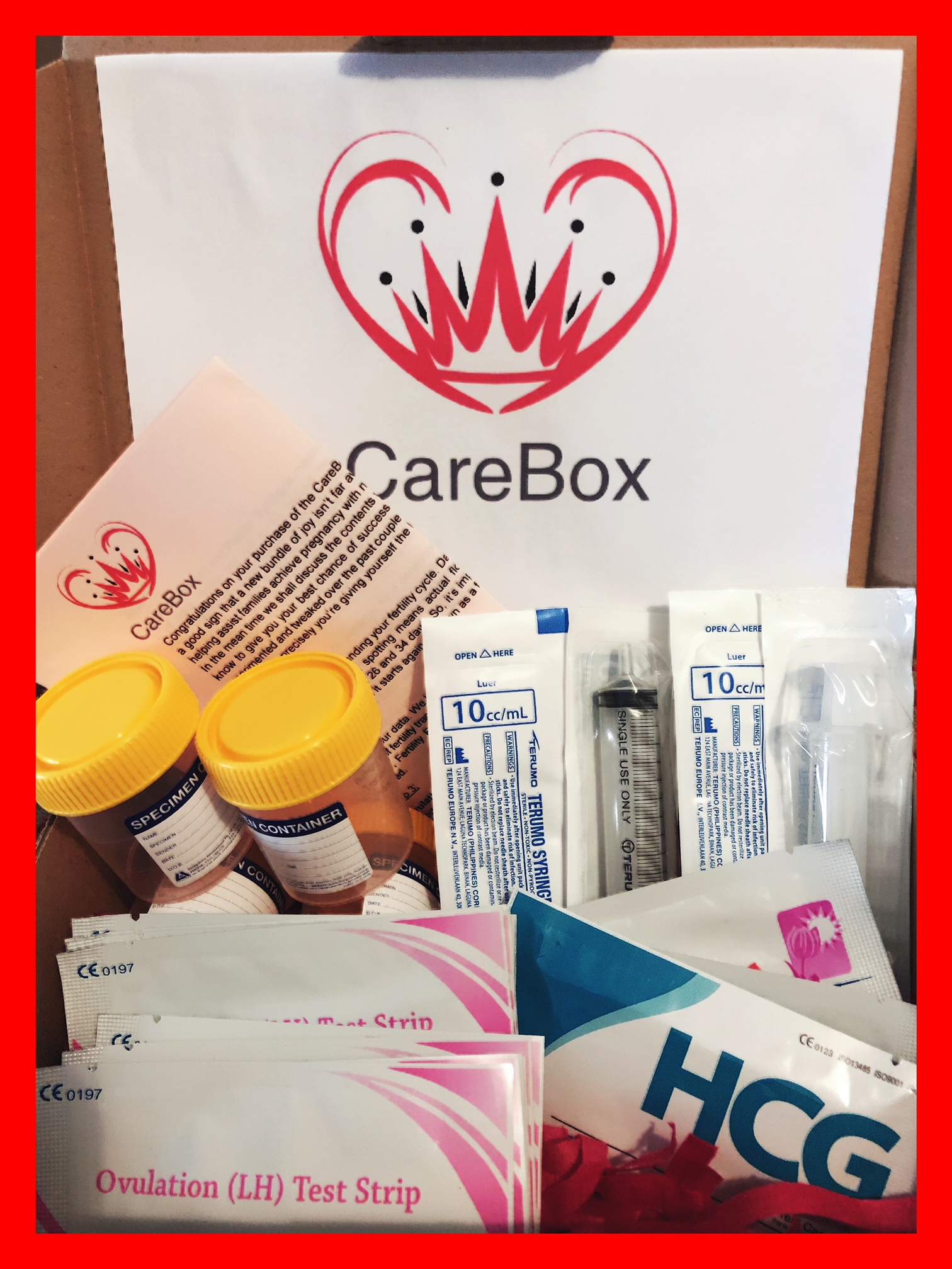 Home Insemination Ai Kit - monthly
