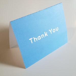 Thank You Note Cards (5 Pack)