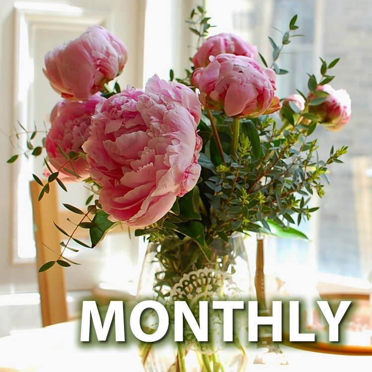 Peony Lover's Flower Club - Monthly
