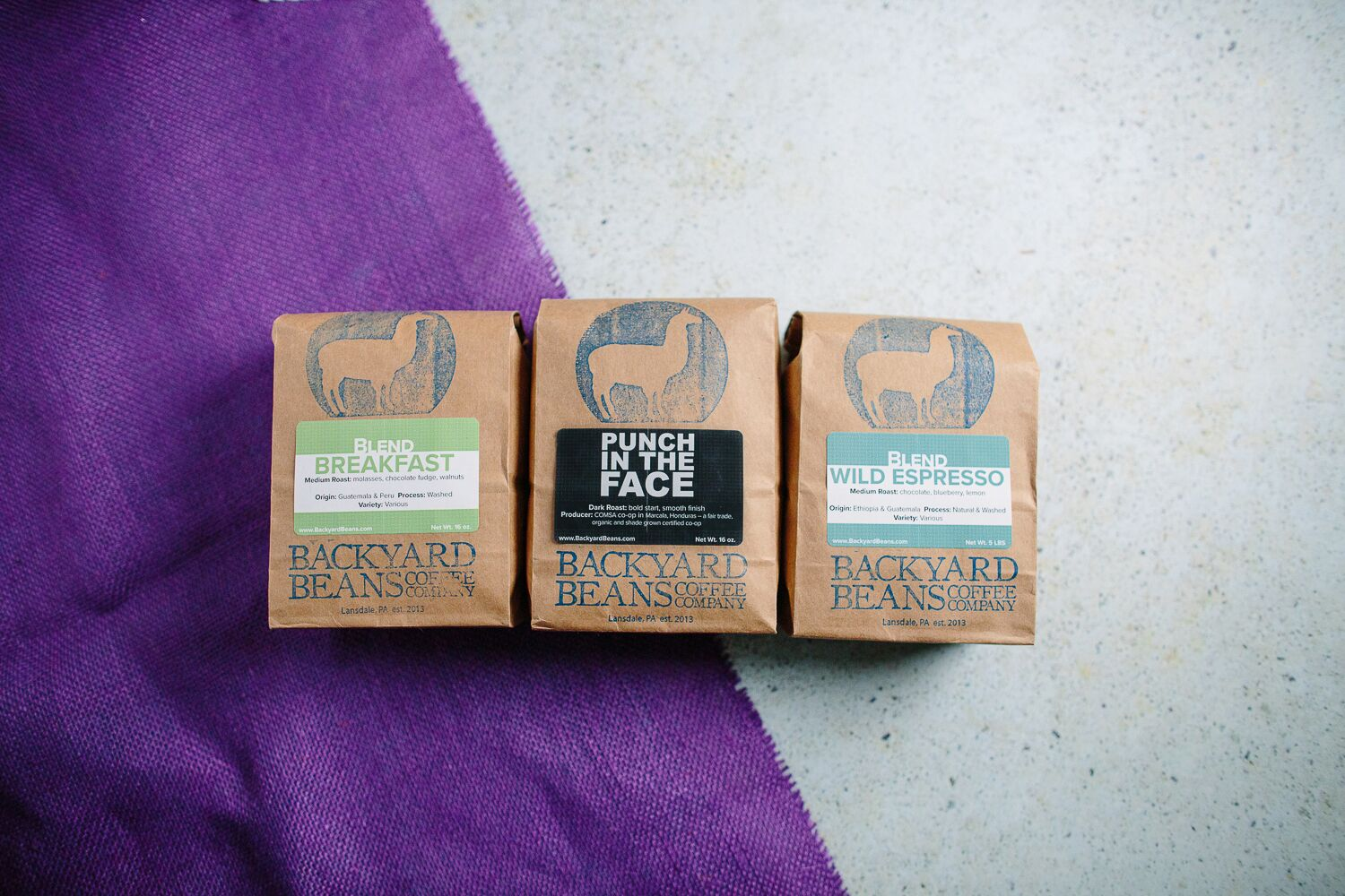 Three 1 Pound Bags: Roasters Choice