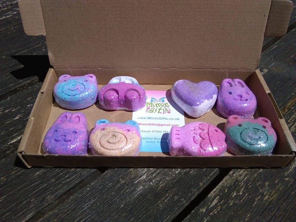 Children's Bath Bomb Box