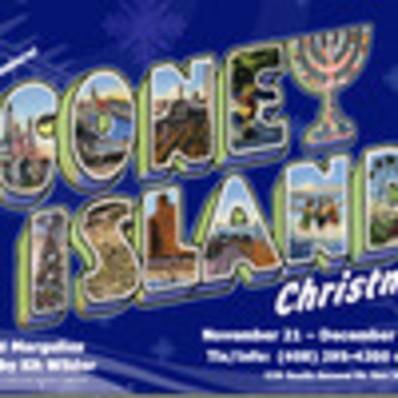 Island Christmas Theme.Coney Island Christmas Theme 1 George Psarras