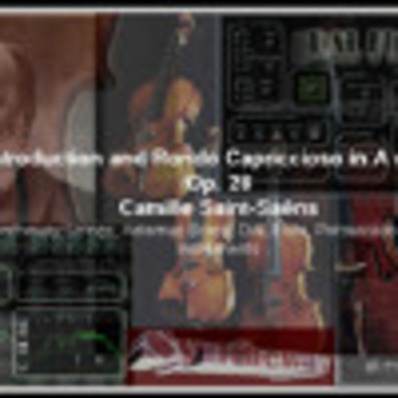 Introduction Rondo Capriccioso in A minor Op  28 Syntheway Strings