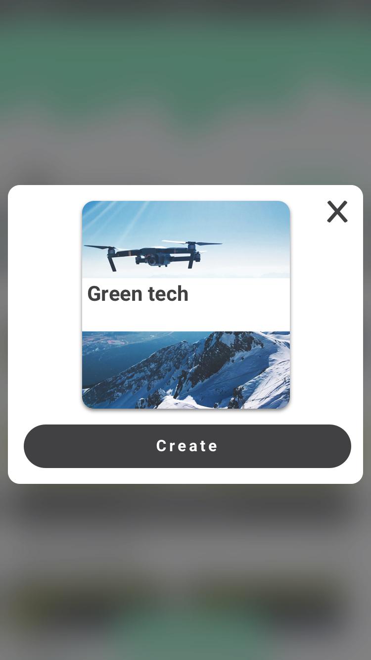 create portfolio