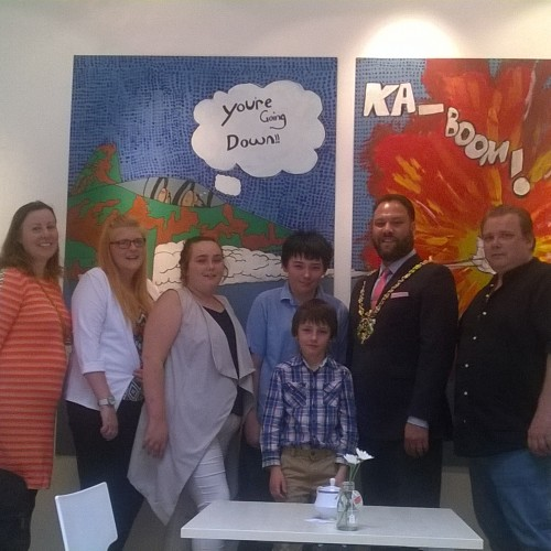 Gainsborough Library_Art Project Exhibition