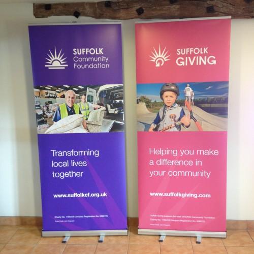 SCF banners
