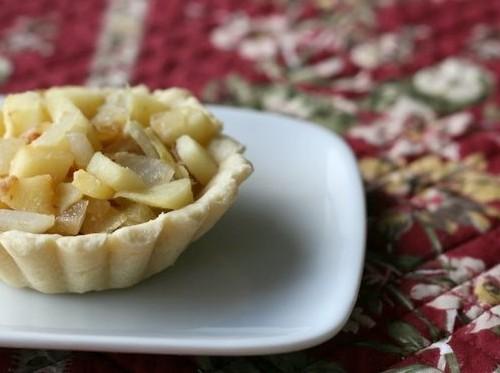 Apple Onion Tart