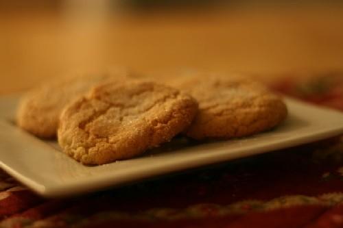 Sesame Ginger Cookies