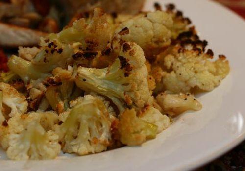 Roasted Panko and Pecorino-Crusted Cauliflower