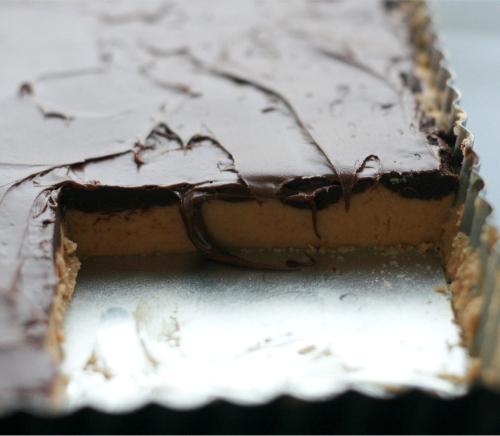 recipe: nutella peanut butter bars