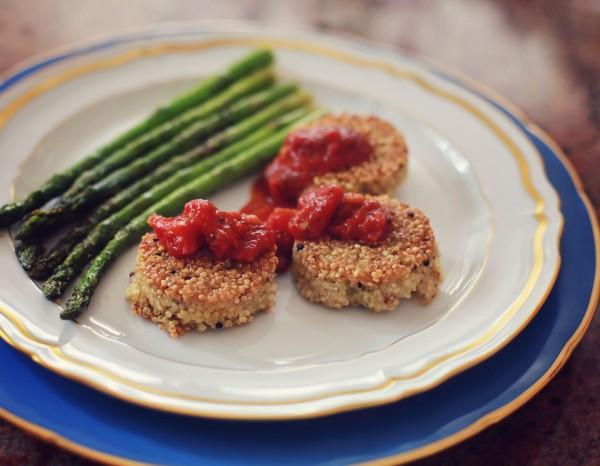 recipe: homemade quinoa cakes