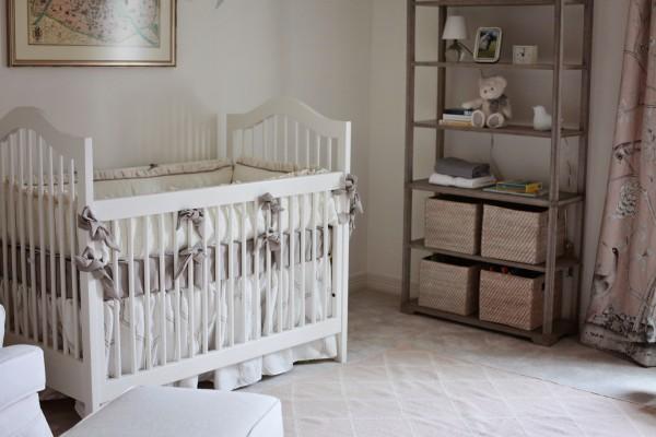 spotlight on: julie's baby girl nursery