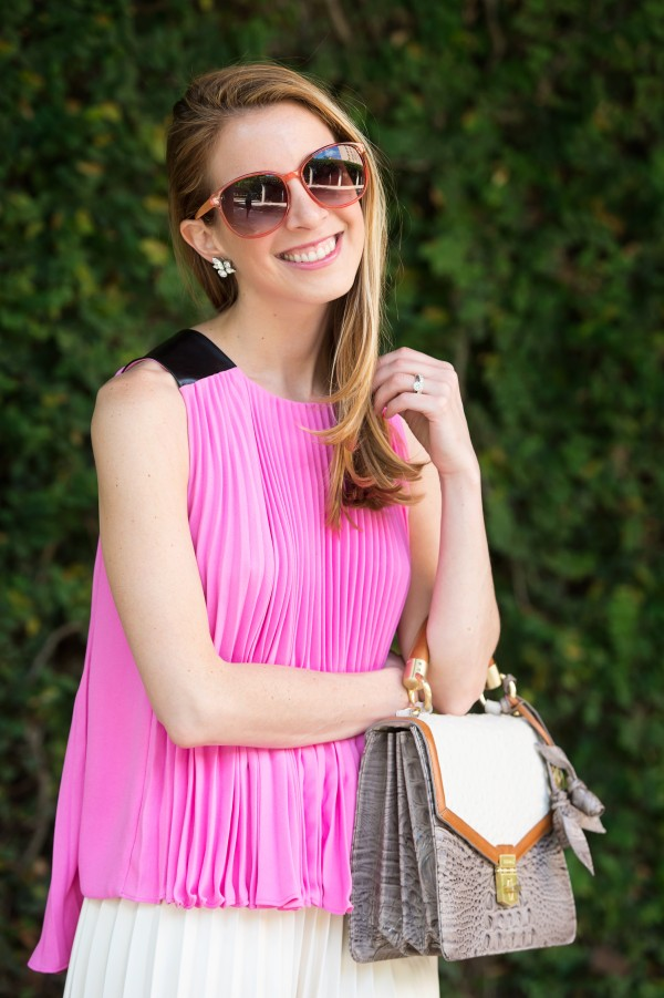 how to wear pleats for spring