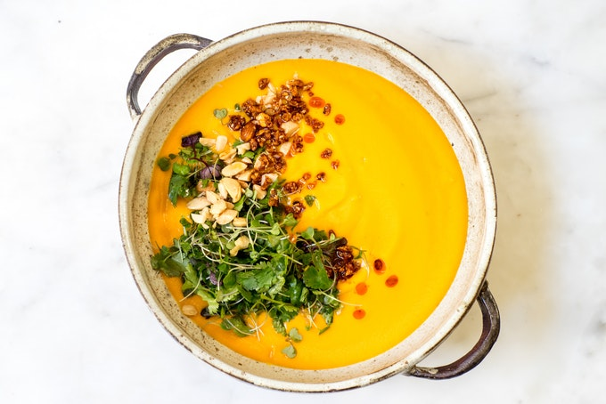 A Simple Carrot Soup