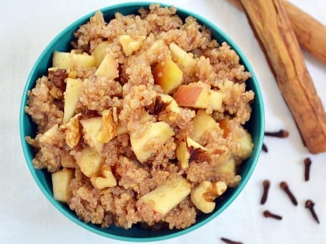 Apple Nut Quinoa