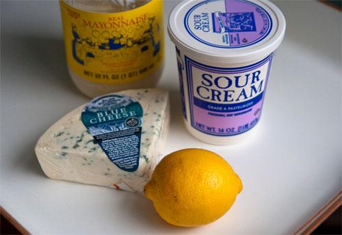 Blue Cheese Dip Recipe
