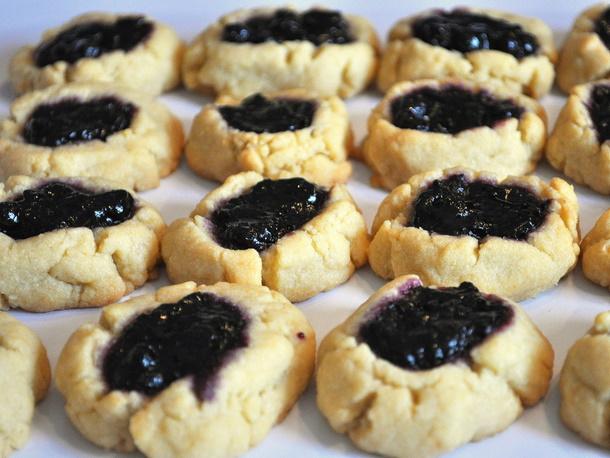 Blueberry Thumbprint Cookies Recipe