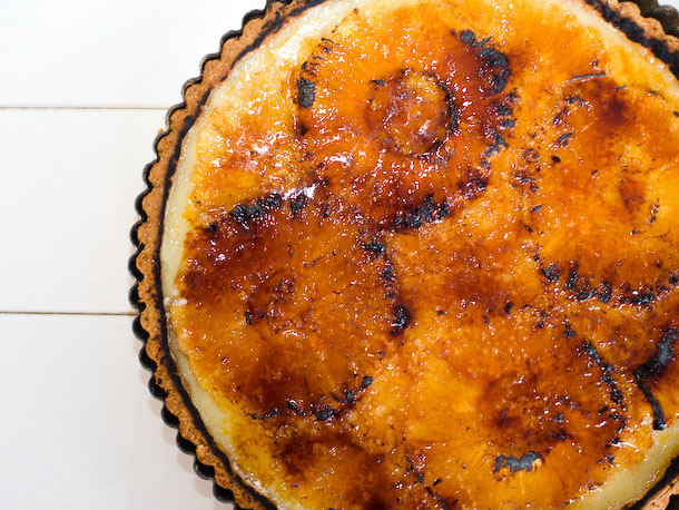 Bruleed Pineapple Tart Recipe
