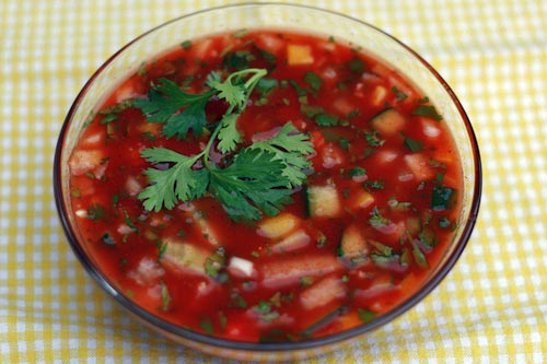 Cool Summer Gazpacho Recipe