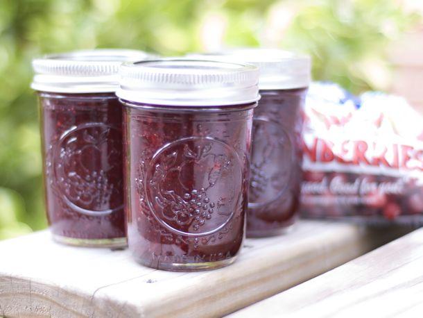 Cranberry Port Jam Recipe