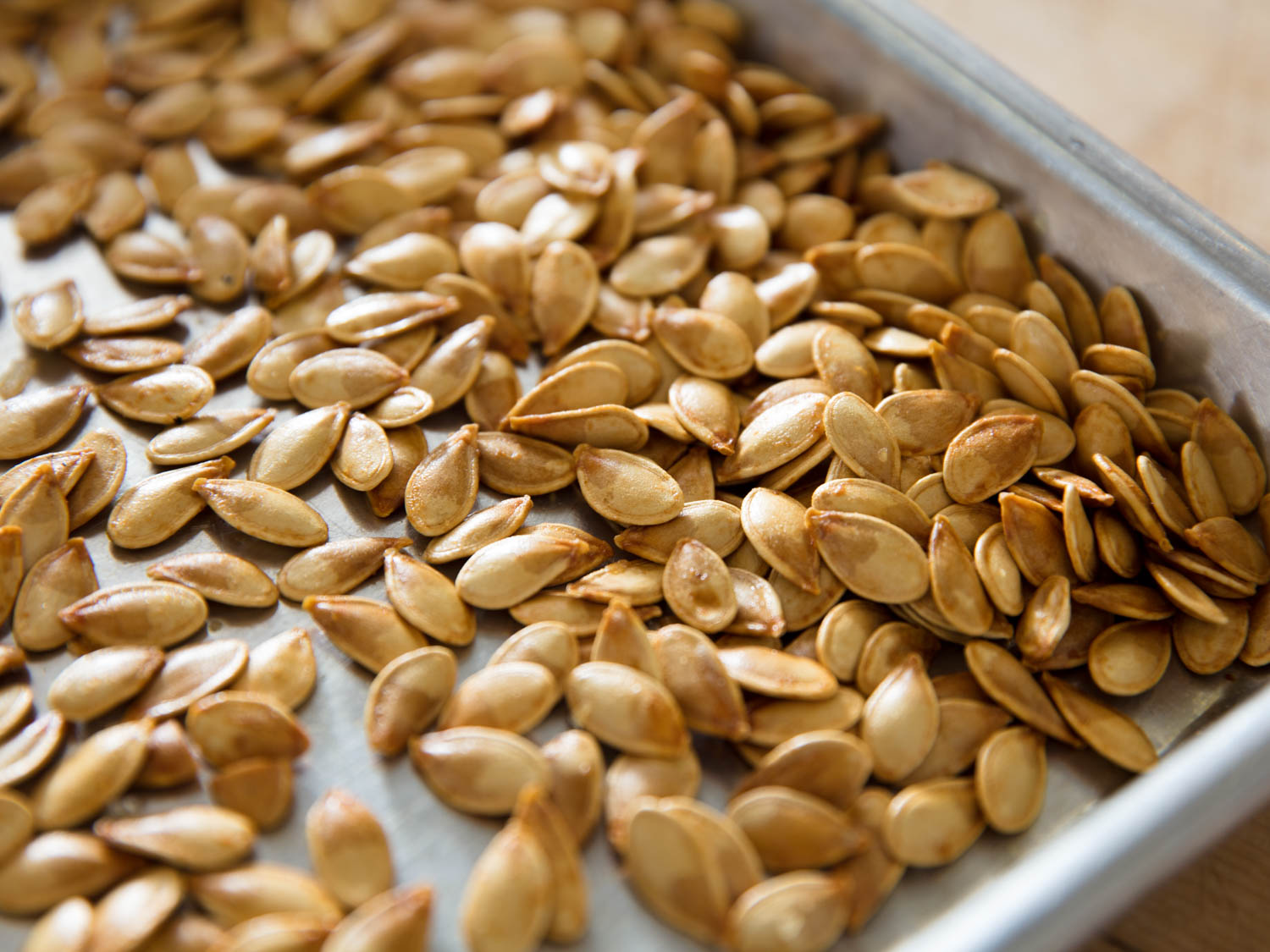 Easy Roasted Pumpkin Seeds Recipe