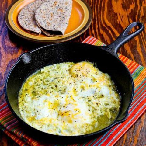Fifteen Minute Salsa Verde Eggs