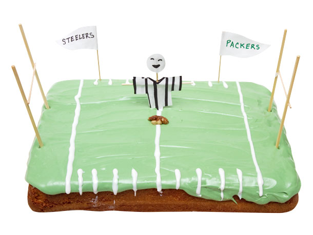 Football Field Cake Recipe