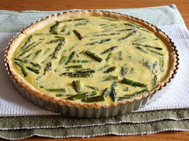 Gluten-Free Roasted Asparagus Tart Recipe