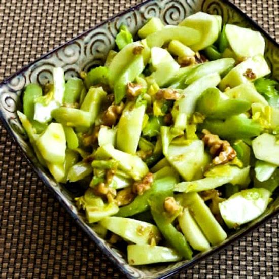 Green Apple, Celery, and Walnut Salad