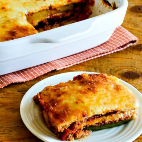 Grilled Zucchini Low-Carb Lasagna