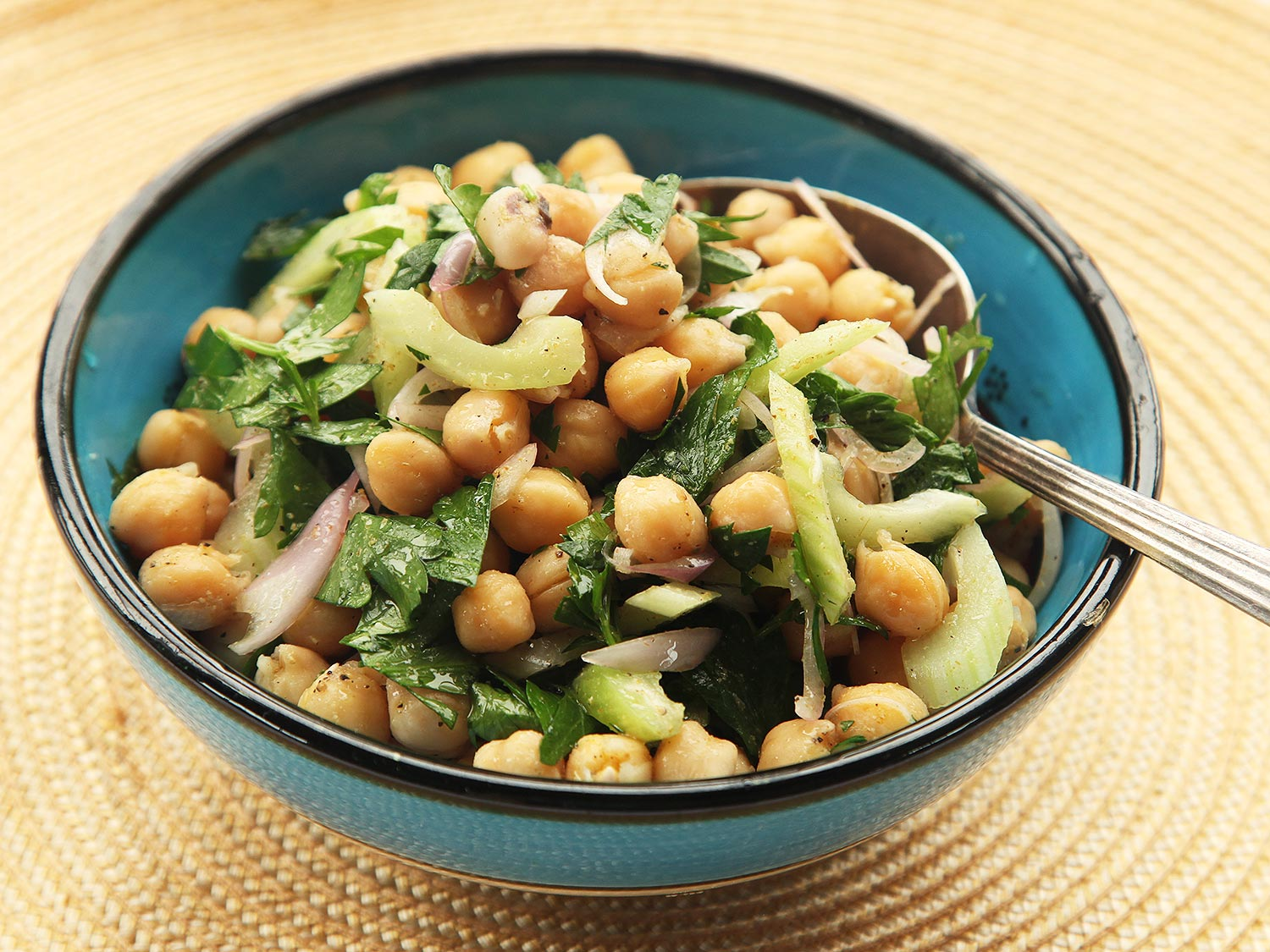 Make-Ahead Chickpea Salad With Cumin and Celery Recipe