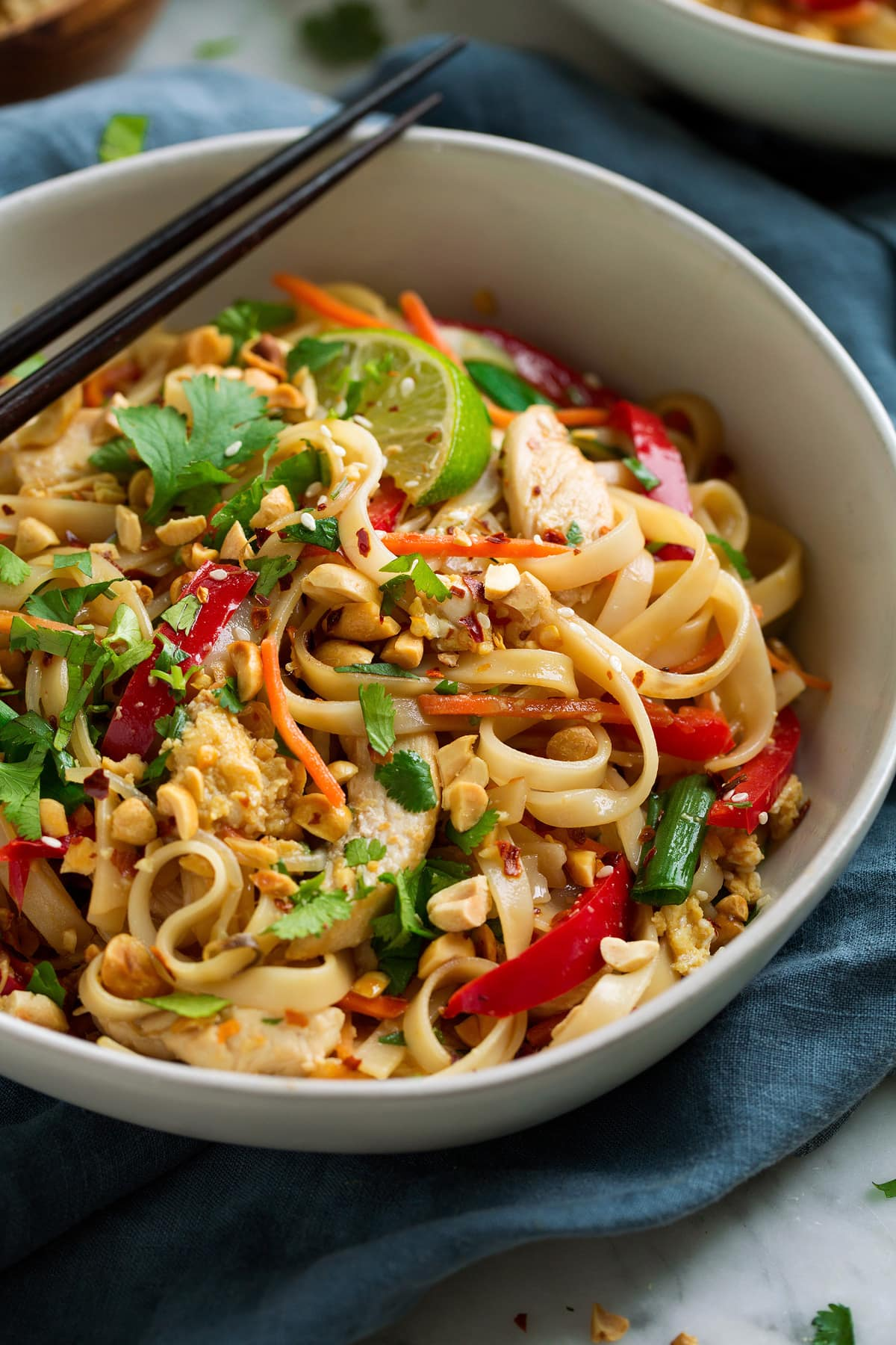 Pad Thai (with Chicken or Shrimp)