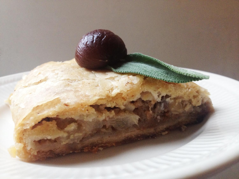 Pear and Chestnut Strudel Recipe