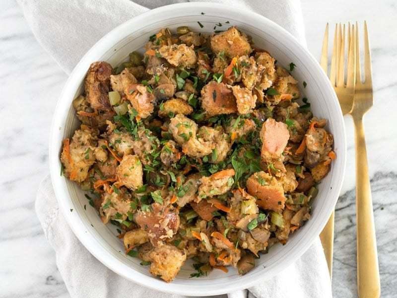 Savory Vegetarian Stuffing Recipe