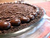 Serious Chocolate: Easy Chocolate Pie Crust Recipe