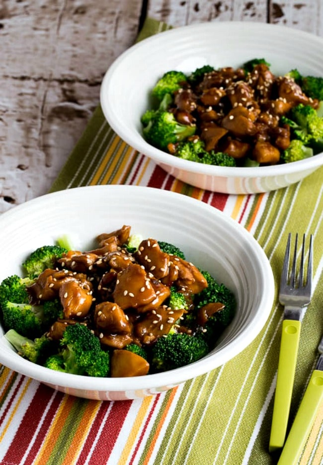 Slow Cooker Asian Chicken Broccoli Bowls