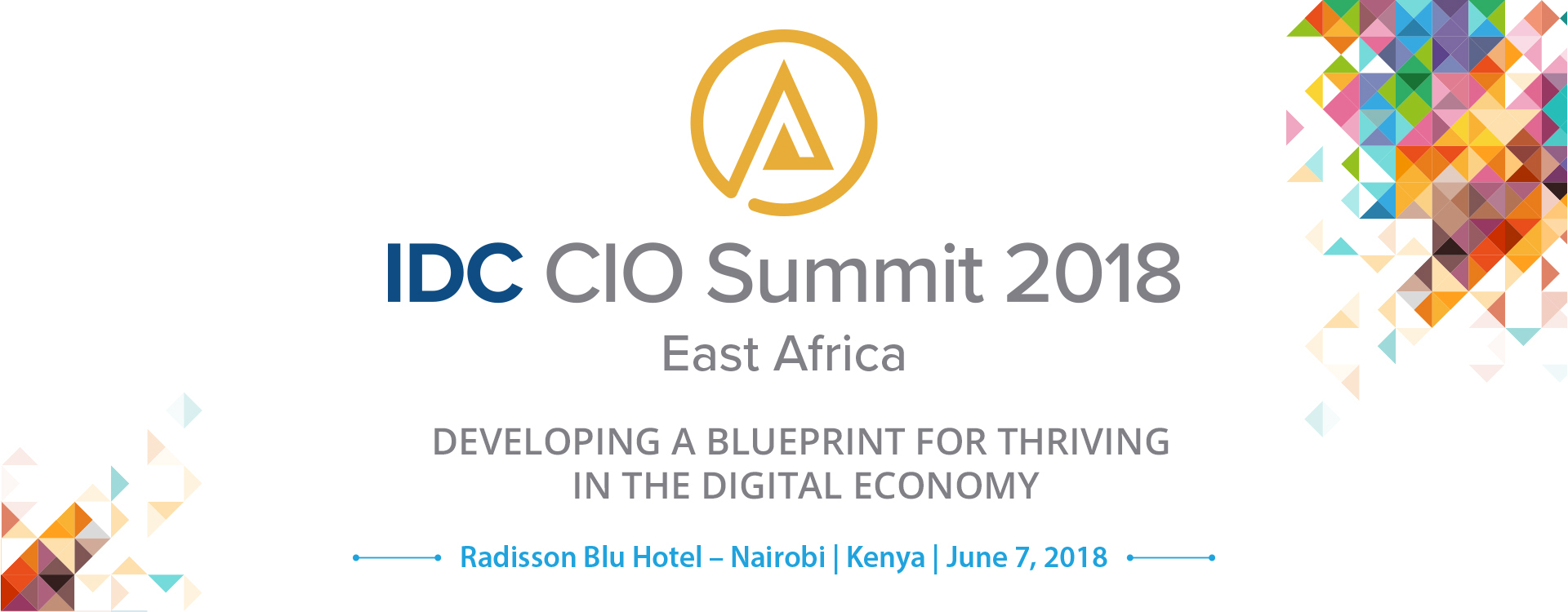 East africa idc cio summit 2018 idcs cio summit series has served as a pioneering platform for ict thought leadership in the middle east africa turkey region since 2008 and returns to malvernweather Gallery