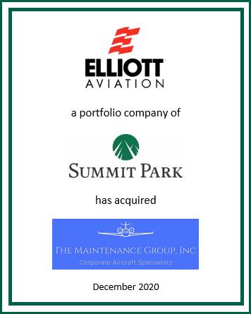 Elliott Aviation Completes Acquisition of TMG